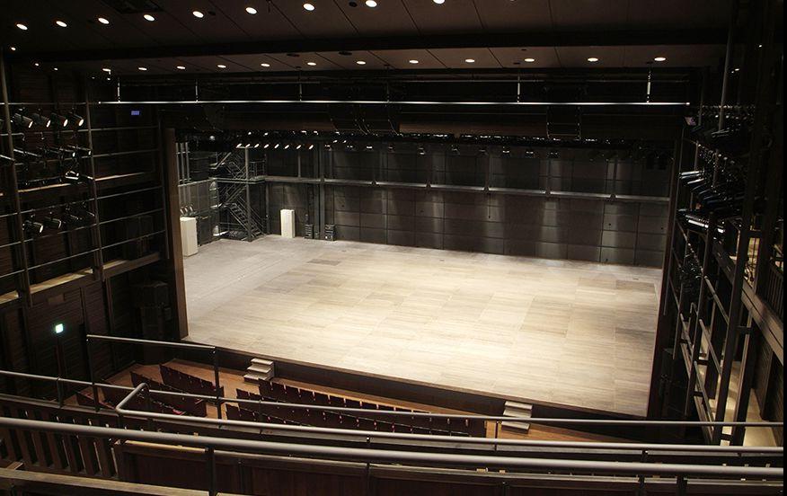 阪急中ホール | 座席表 | 兵庫県立芸術文化センター